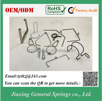 Manufacturer Custom Stainless Steel Wire 304 And Flat Wire Spring ...