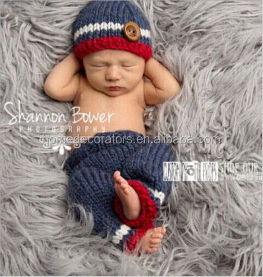 Mother & Kids Newborn Photography Props Baby Shooting Costume Handmade Knitted Baby Hats Monkey Hat+pants Set Baby Photo Props Accessories To Enjoy High Reputation In The International Market Accessories