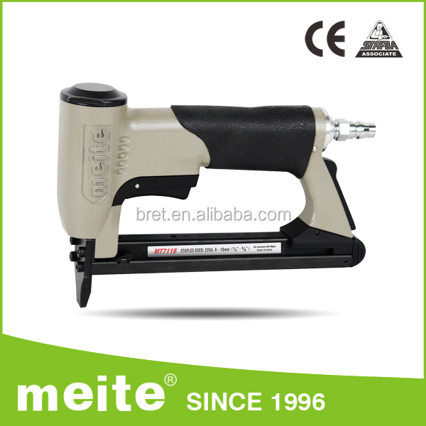 Industrial grade pneumatic light duty staple gun,leather stapler