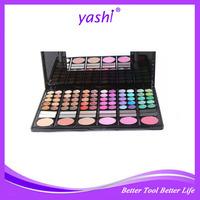 Yashi Free Samples Offer Wholesale 78 Color EyeShadow Palette Eyes Powder Foundation