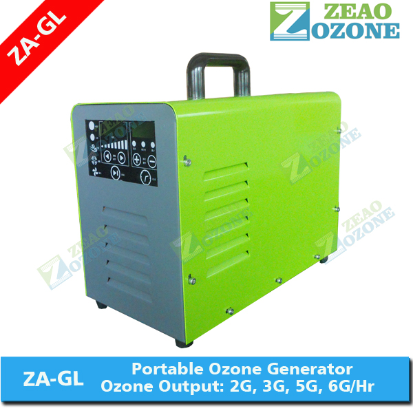 3g LCD control odor removal portable ozone generator for <strong>air</strong> and water purify