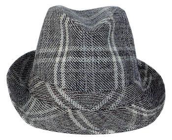 13b59998 Personalized promotional custom logo band fedora trilby hat Panama Men  Straw Fedora Hat