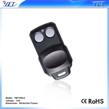 2 Buttons 868mhz Remote Duplicator For Faac Garage Door Remote