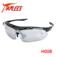 Panlees OEM Custom Polarized Fashion UV400 Cycling Eyewear Climbing Sunglasses With RX Optical Inserts