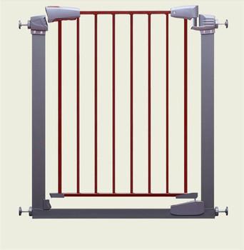 Easy Close Metal Safety Door Adjustable Baby Gate Pet Barrier Child
