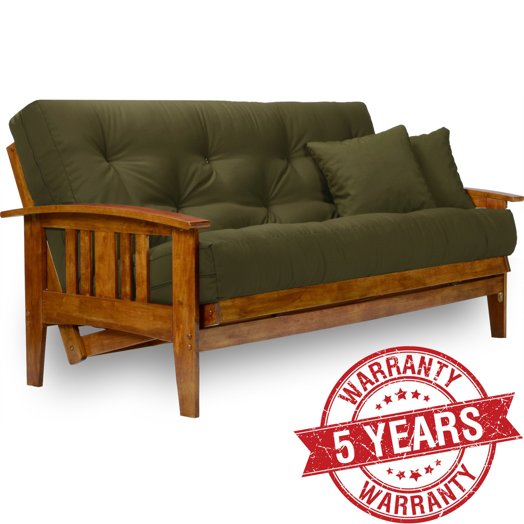 Get Quotations Westfield Futon Frame Queen Size Solid Hardwood