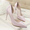 cz3029f Quality stiletto pumps shoes leather for wedding popular woman high heels wholesale
