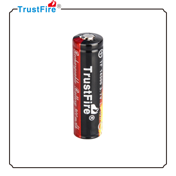 Accessory for electric kid toy TrustFire 14500 3.7v li ion rechargeable battery,PCB protective power safe lithium battery