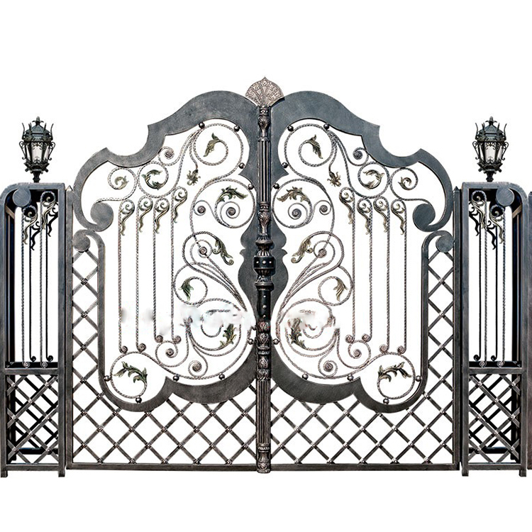 Best price latest modern stylish house iron main gate designs