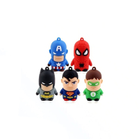 Wholesale bulk mini 3.0 memory plastic pvc cartoon character usb flash drive