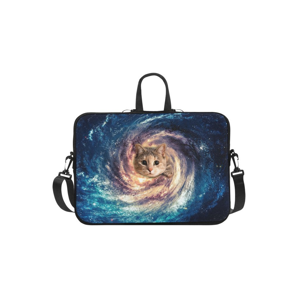 "InterestPrint Classic Personalized Galaxy Space Universe Cat 13"" - 13.3"" /Macbook Pro Air 13 Inch Laptop Sleeve Case Bags Skin Cover for Lenovo, GW, Acer, Asus, Dell, Hp, Sony, Toshiba"