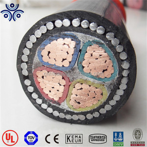 0.6/1KV 50mm2 70mm2 CU/XLPE/PVC/SWA/PVC power cable