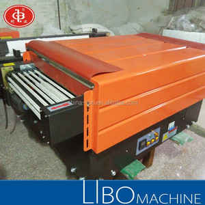 BS4525 Jet Heat Shrink Wrapping Machine for Packing food, beverage, and other unit goods
