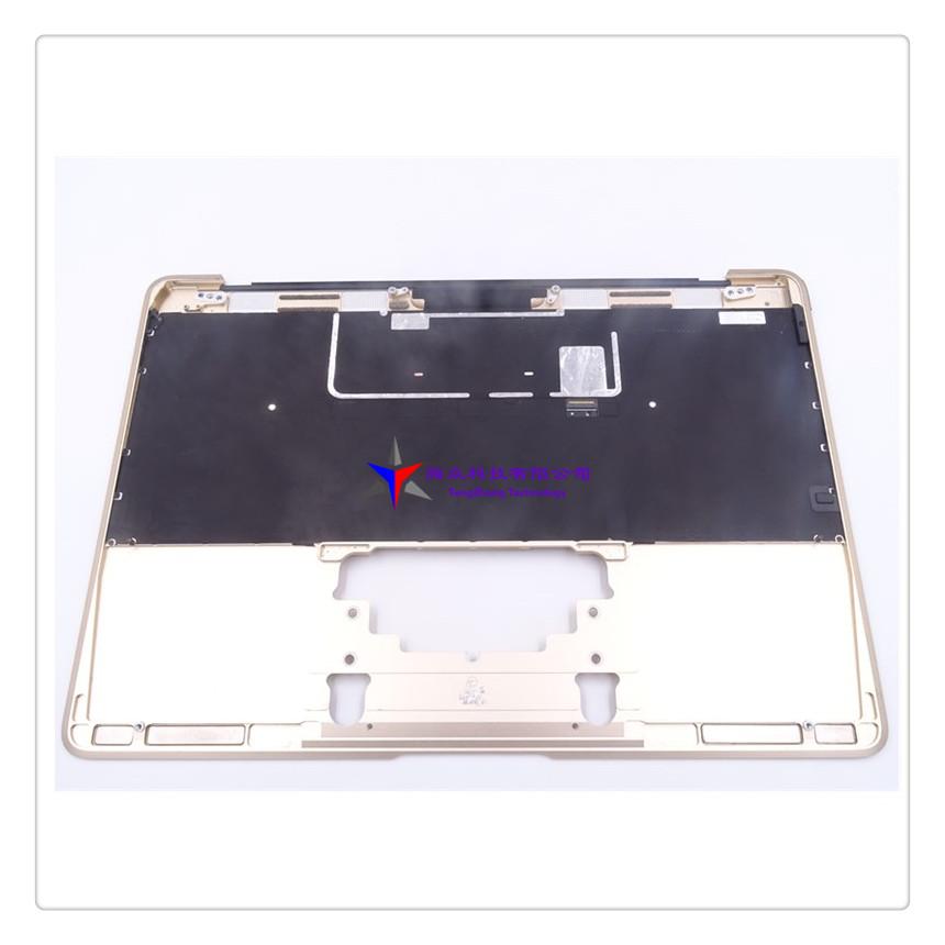 "Apple MacBook Retina 12/"" A1534 Early 2015 Palmrest w// Keyboard Gray 613-01195 B"