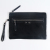 Wholesale 2018 Smooth Zipper Pouch Evening Handbag Custom Leather Clutch Bag For Women