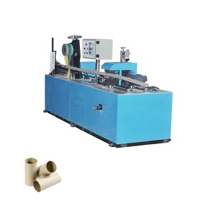 Spiral cardboard paper tube core making machine,corrugated paper production line
