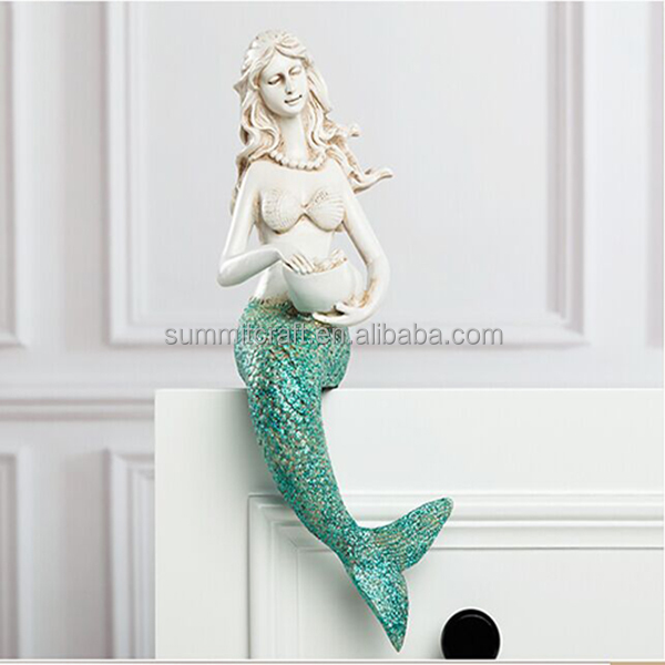 Resina polvere Flash mermaid statue vendita