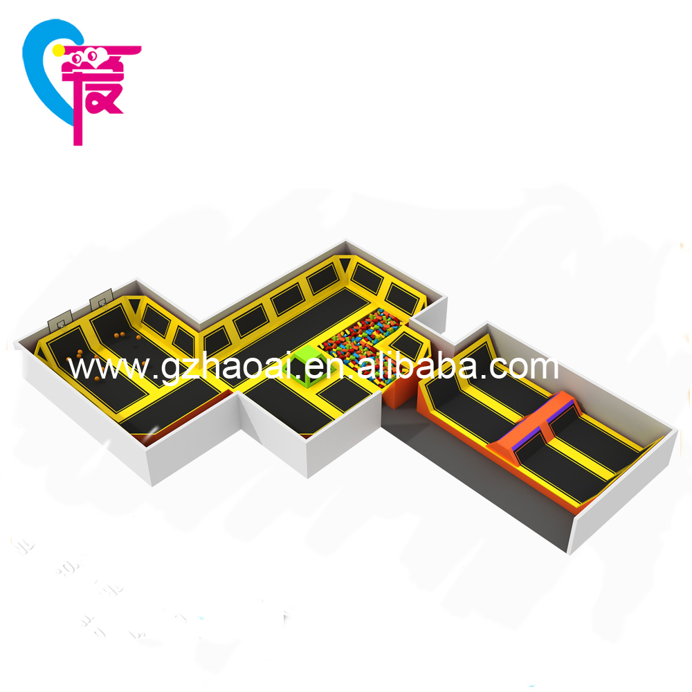 A-15251 Excellent quality CE Bungee Trampoline Park Commercial Playground Equipment