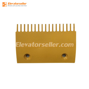 Sigma Escalator Comb Plate DSA2000169-M Middle Yellow Plastic