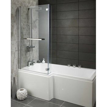 2016 Universal Over Bath Glass Shower Screen,L Shaped Shower Bath ...