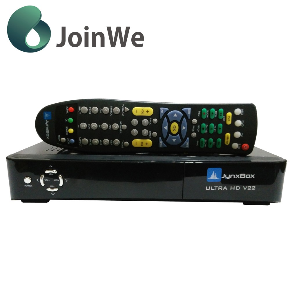 Joinwe Factory Price For Original Jyazbox Ultra Hd V23 Fta Hd Satellite Receiver With Jb200 And Wifi