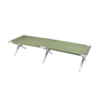 Tianye portable aluminum folding bed cot for adult army bed tent camp foldable