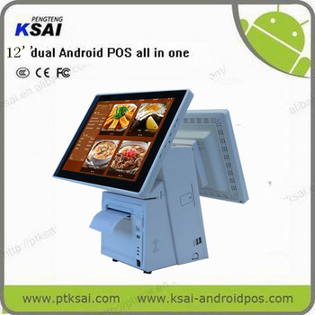 Ptksai Pos System,Pos All In One,12 Inch Pos