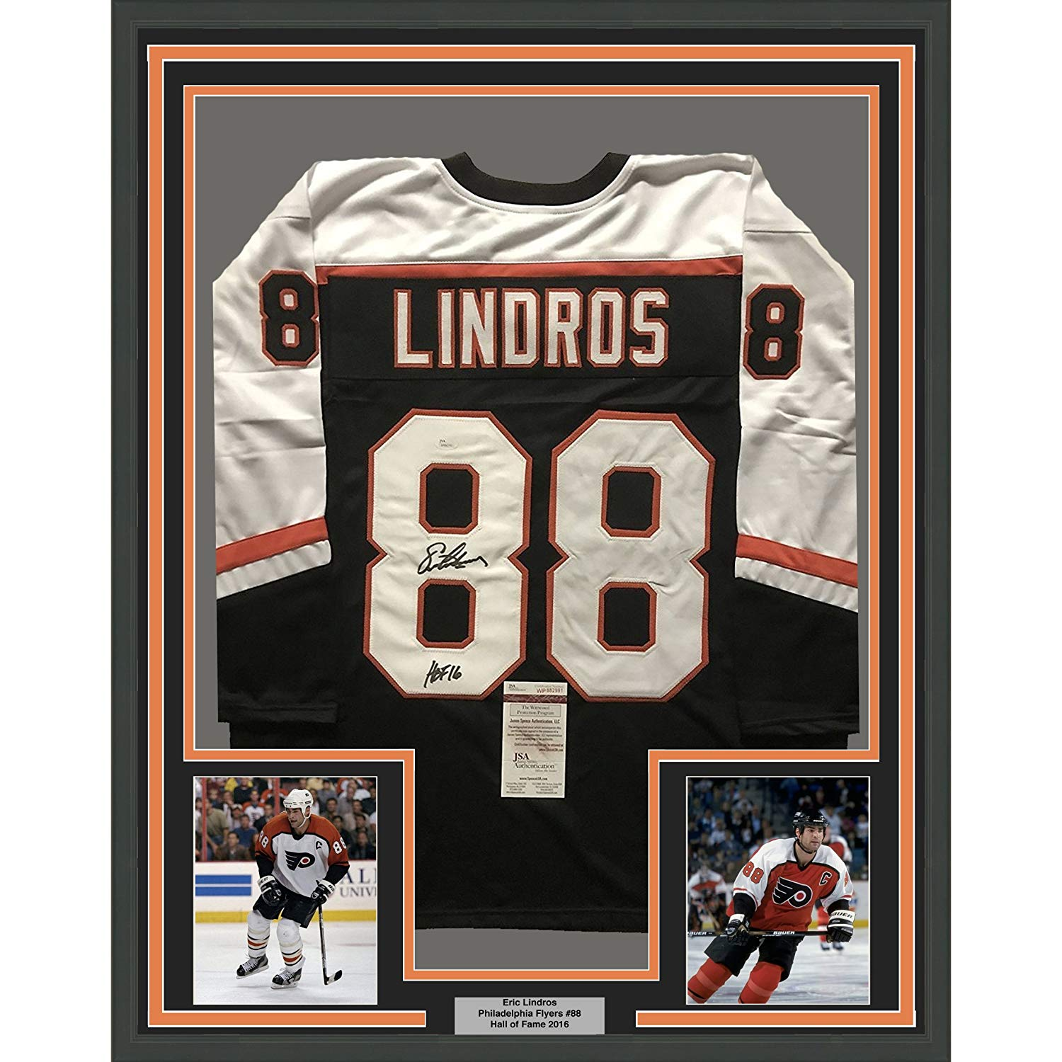 9d9b04d9798 Framed Autographed Signed Eric Lindros