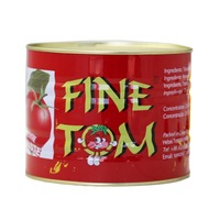 Canned Tomato Paste pure without black spot