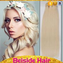 bsd nouvelle arrive blanc couleur cheveux humains extension meilleure vente cheveux armure - Meilleure Coloration Cheveux Blancs