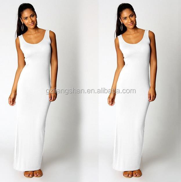 1f93152f8e 2016 calidad de marca de verano casual maxi vestido de las mujeres sexy  negro vestido largo