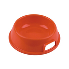 Candy Color Dog Bowls Plastic Pet Feeder Bowls For Cat