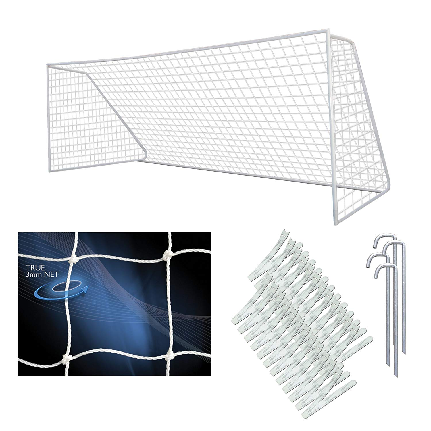 6d3af8278 Get Quotations · AGORA Semi-Pro 7'x21' Youth Portable Soccer Goal Kit