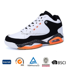 top selling trade good quality high grade air cushion basketball shoes with ankle support