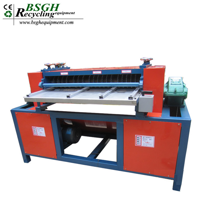 Superior Quality BS-1200S Waste Copper Aluminum Recycling Machine Radiator Panel Recycling Production Line