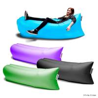 Portable Inflatable Outdoor Lazy Sofa / Bed/ Air Filled Furniture Lamzac Hangout Lounge Sleeping Air Sofa Bag