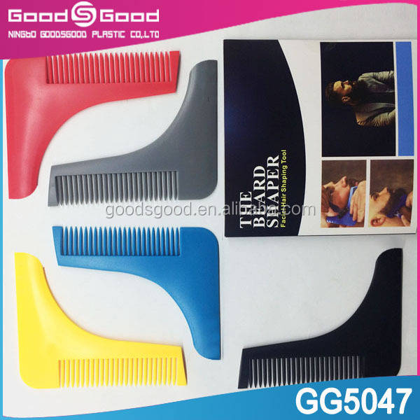 beard shaping tool plastic beard comb