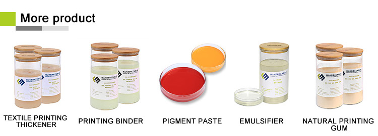 High viscosity Synthetic Pigment printing thickener EM-PTE