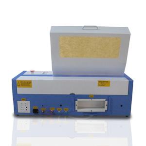 smart mini k40 laser cutter 40w co2 laser tube laser rubber stamp engraving  cutting machine 3020 desktop