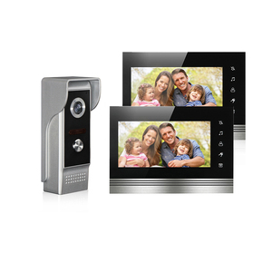 Doorbell camera for video intercom system 7 Inch TFT-LCD color screen intercom,monitor,unlock to home security