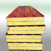 Professional any color is ok 40mm thickness glass wool sandwich panel for residential resettlements Recycling use