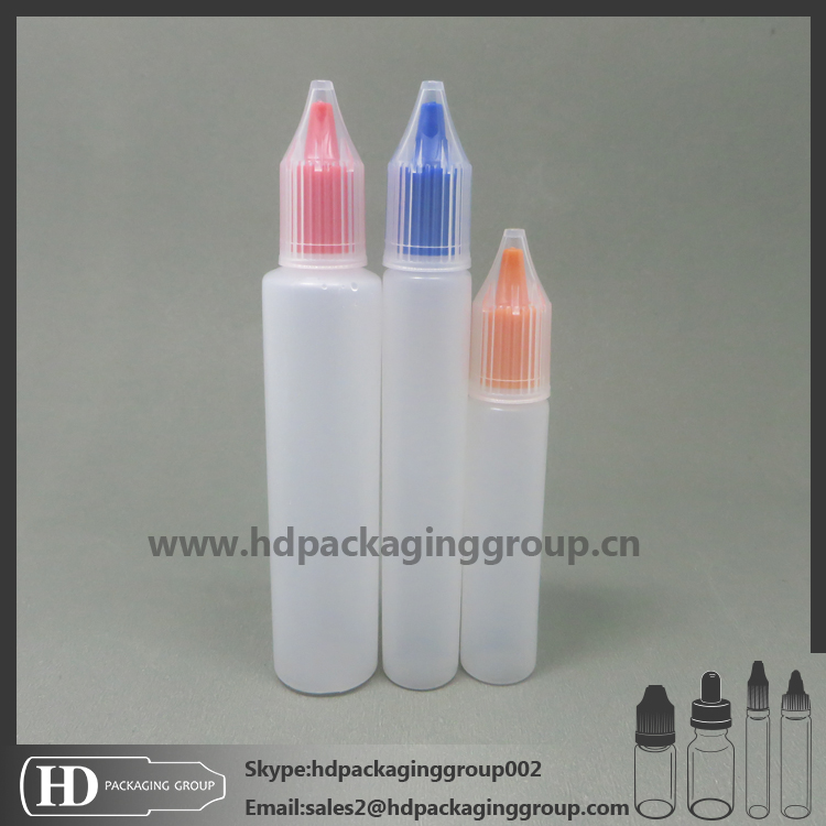 HD new Hot Selling 10ml Pe E-vapor Plastic Dropper Bottle Fluid Squeezable Needle Bottles for Pharmeceutic Use