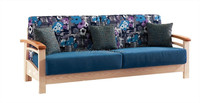 Afamily Contemporary Bonded fabric solide wood Sofa & Loveseat Set, 2 Piece Sofa Set B05