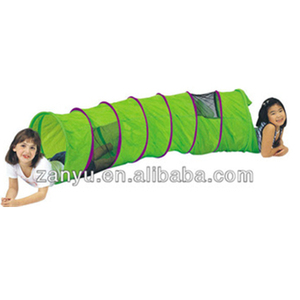 Kids plastic fabric climbing tunnel