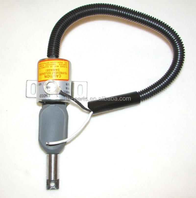Takeuchi Tl140 Loaders 4jg1tp Engine C240 Fuel Shut Off Solenoid Mv1-40  1700-4061 894450-7231 - Buy 8944507231,Mv1-40,Tl140 Solenoid Product on