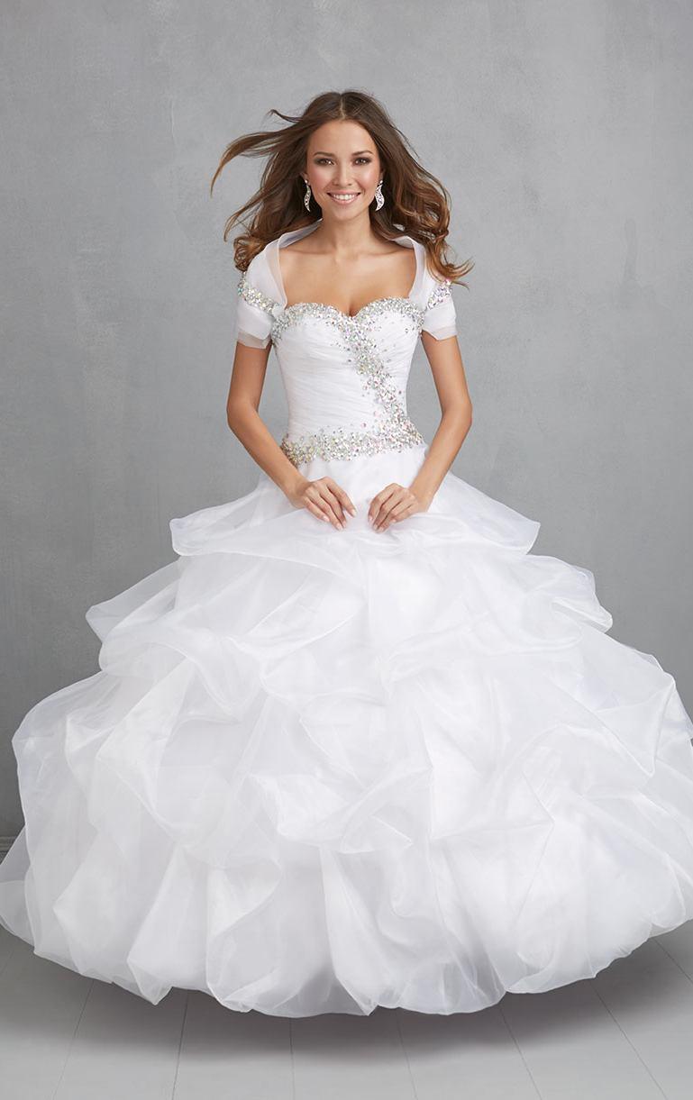 White Cotillion Dresses   Cocktail Dresses 2016