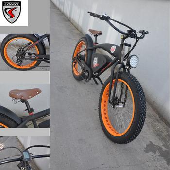 7be924e07d9 48v 750w chopper beach cruiser e bicycles electric fat bike