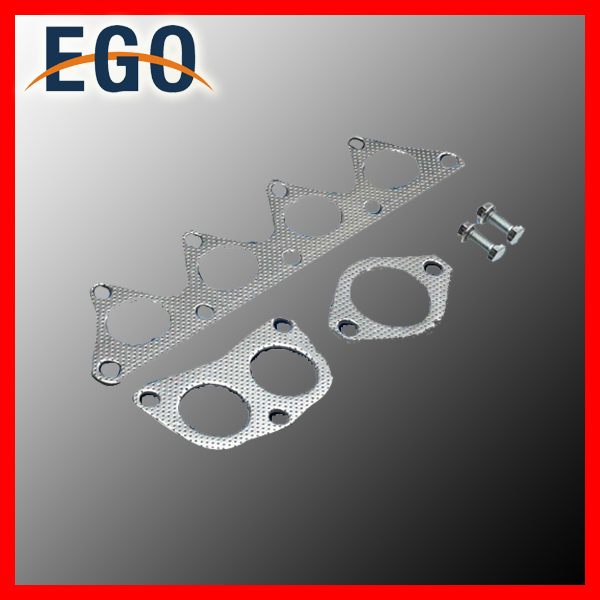 Metal Gaskets And Bolts For MITSUBISHI LANCER 02-07 2.0 ES LS 0Z Stainless Steel Header Exhaust