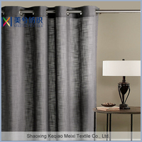 Elegant style linen classic high quality office window curtain