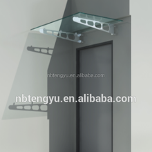 Entrance Awning Canopy, Ningbo Tengyu stainless steel canopy awning rain protection for windows doors awning parts